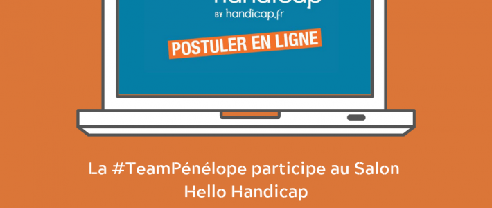 HELLO HANDICAP, le salon de recrutement 100% digital